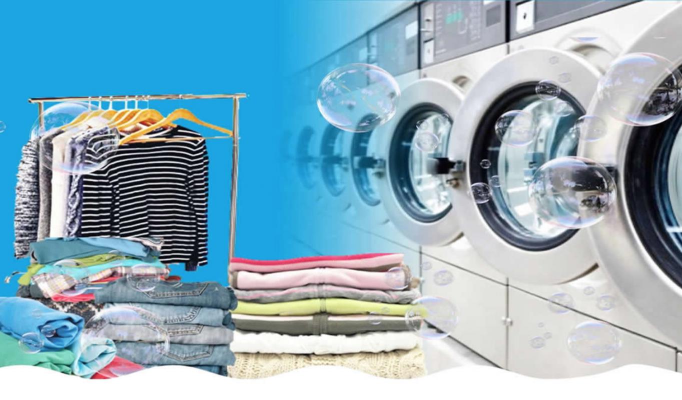 Quy trình giặt là công nghiệp cơ bản