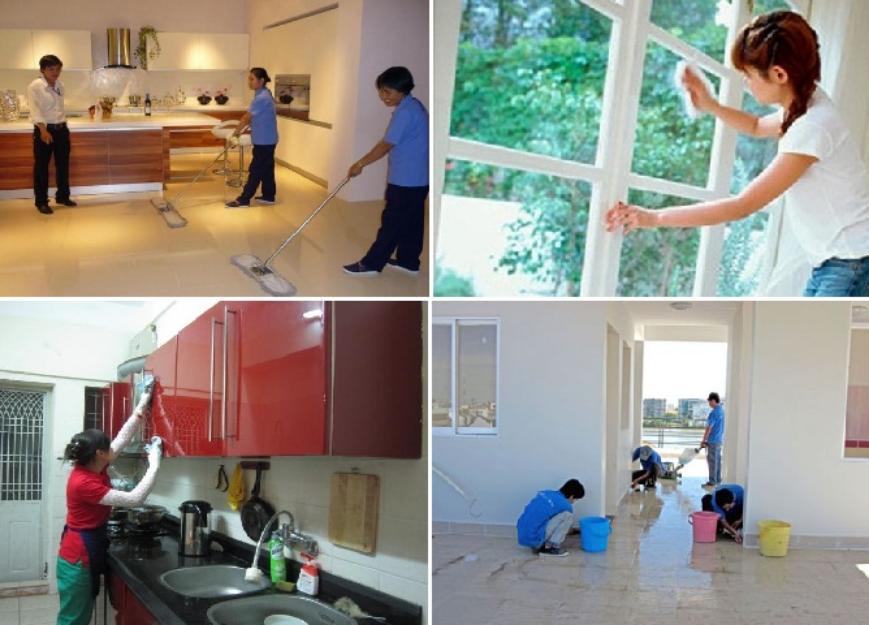 Dịch vụ vệ sinh công nghiệp quận Ba Đình