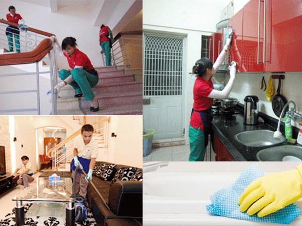 Dịch vụ vệ sinh nhà ở của Hoàn Mỹ